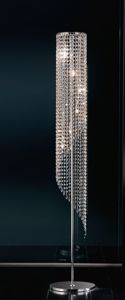 Picture of ANTEA LUCE ASTRID CRYSTAL FLOOR LAMP