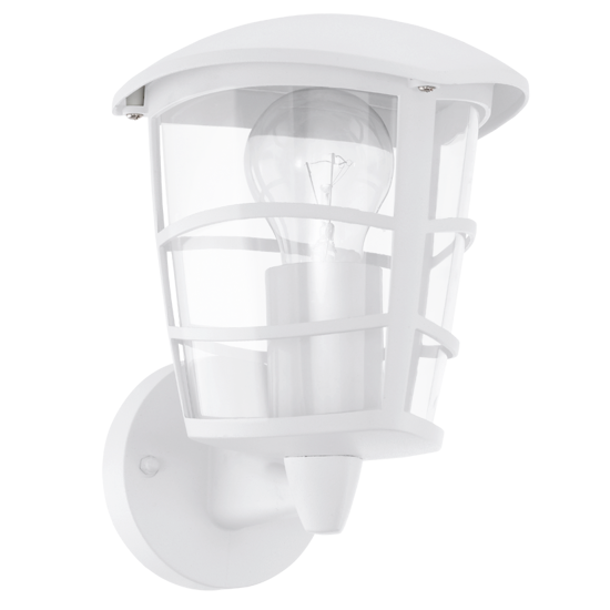 Picture of EGLO ALORIA OUTDOOR WALL LIGHT WHITE LANTERN IP44
