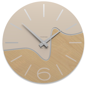 Picture of CALLEA DESIGN MODERN WALL CLOCK OLIVER SAND