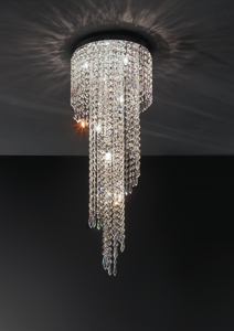 Picture of ANTEA LUCE ASTRID CONTEMPORARY CRYSTAL CEILING LAMP
