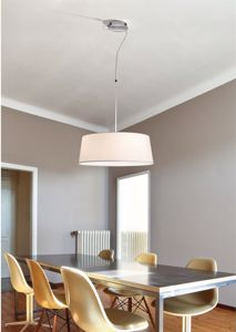 Picture of FARO HOTEL WHITE SUSPENSION WITH SHADE