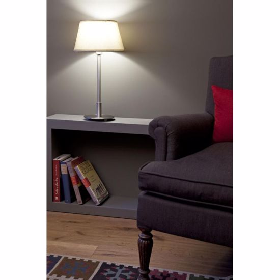 Picture of FARO MITIC TABLE LAMP WITH BEIGE SHADE