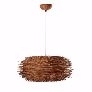 Picture of FARO NIDO SUSPENSION IN BROWN RATTAN