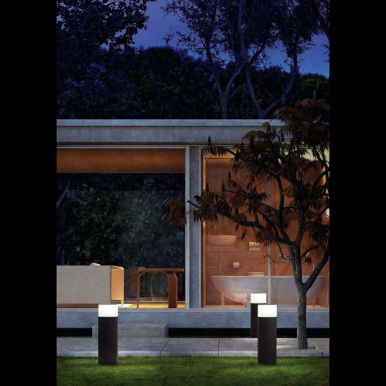 Picture of FARO DATNA OUTDOOR BEACON LAMP GREY 60CM MODERN DESIGN