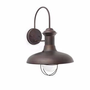 Picture of FARO ESTORIL RUSTIC OUTDOOR WALL LAMP BROWN Ø31CM