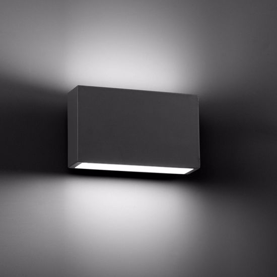 Picture of OUTDOOR LED WALL LAMP 2X3W DRIV INCL 3000K