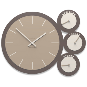 Picture of WALL CLOCK TIME ZONES MODERN DESIGN