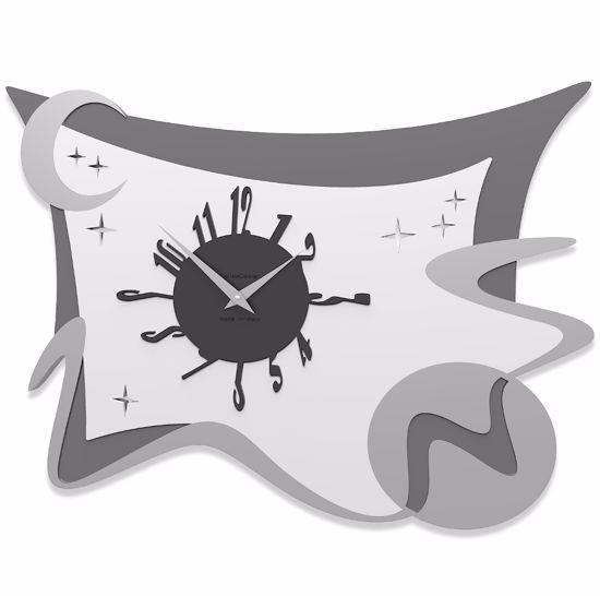 Picture of CALLEA DESIGN SPACE WALL ART CLOCK WHITE