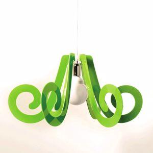 Picture of MODERN PENDANT LIGHT FOR CHILDREN'S ROOM GLOSSY GREEN