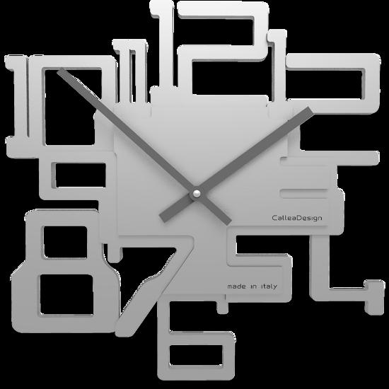 Picture of CALLEA DESIGN MODERN WALL CLOCK KRON ALUMINIUM