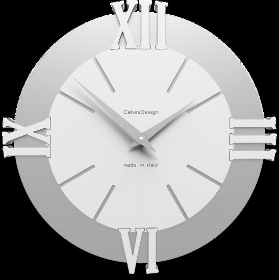 Picture of CALLEA DESIGN MODERN WALL CLOCK LOUIS WHITE
