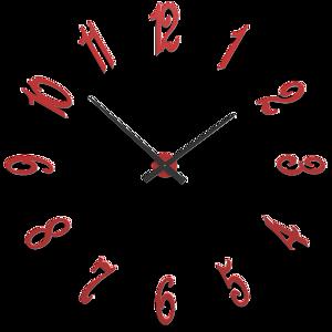 Picture of CALLEADESIGN BRUNELLESCHI FLAME RED WALL CLOCK CM130