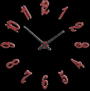 Picture of CALLEA DESIGN BRUNELLESCHI MODULAR WALL CLOCK RUBY CM130