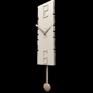 Picture of CALLEA DESIGN MODERN PENDULUM CLOCKS ROCK FLAX