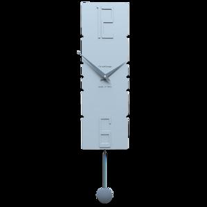 Picture of CALLEA DESIGN MODERN PENDULUM CLOCKS ROCK POWDER BLUE