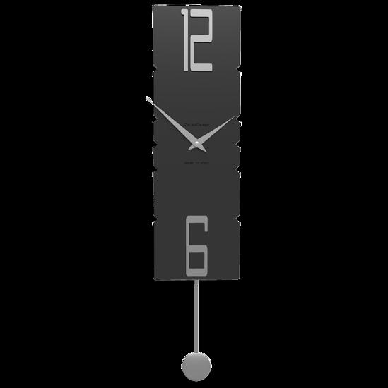 Picture of CALLEA DESIGN MODERN PENDULUM CLOCKS ROCK BLACK