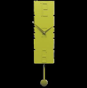 Picture of CALLEA DESIGN MODERN PENDULUM CLOCKS ROCK CEDAR GREEN