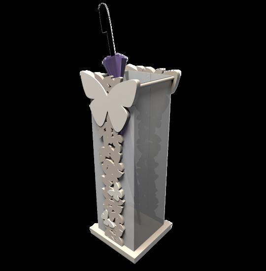 Picture of CALLEA DESIGN DOVE GREY UMBRELLA RACK