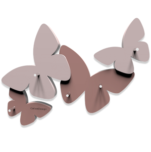 Picture of CALLEA DESIGN MAGNETIC KEY HOLDER BUTTERFLIES CLOUD PINK