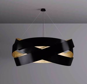 Picture of MARCHETTI PURA SUSPENSION BLACK AND GOLD LEAF