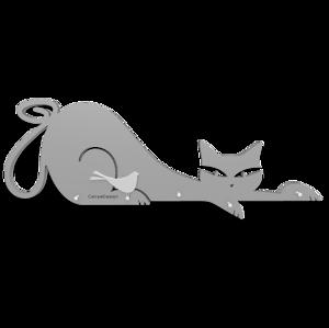 Picture of CALLEA DESIGN KEYHOLDER CAT ALUMINIUM