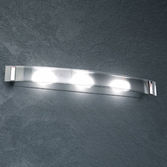 Picture of TOP LIGHT HUT WALL LAMP IN TRANSPARENT GLASS 3 LIGHTS