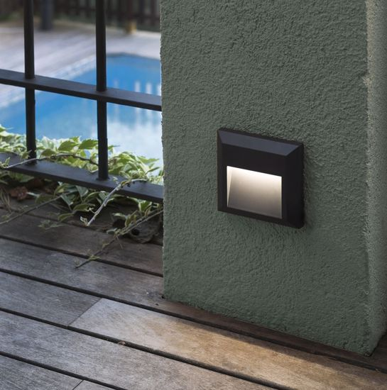 Picture of FARO GRANT-C FOOTPATH RECESSED LED DARK GREY