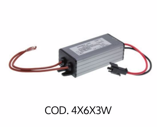 Picture of SIKREA LED TRANSFORMER 4/6X3W FOR 4 TO 6 SPOTLIGHTS