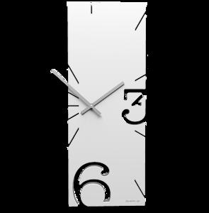 Picture of CALLEA DESIGN WHITE WALL CLOCK GREG