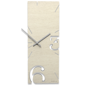 Picture of CALLEA DESIGN BLEACHED OAK WALL CLOCK GREG