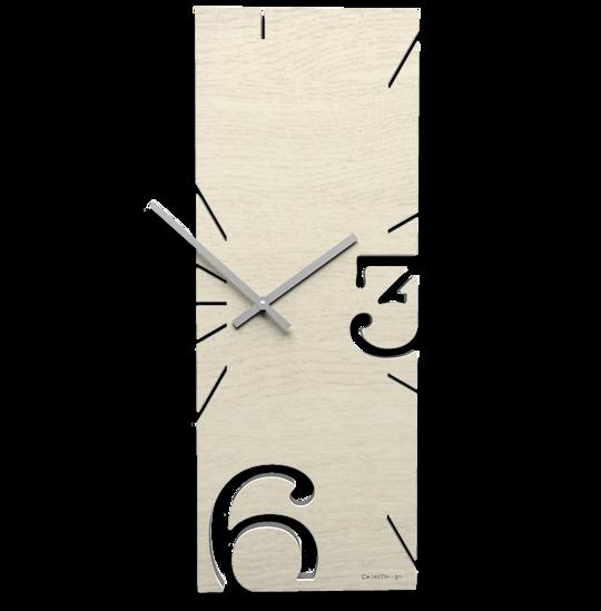Picture of CALLEA DESIGN BLEACHED OAK WALL CLOCK GREG