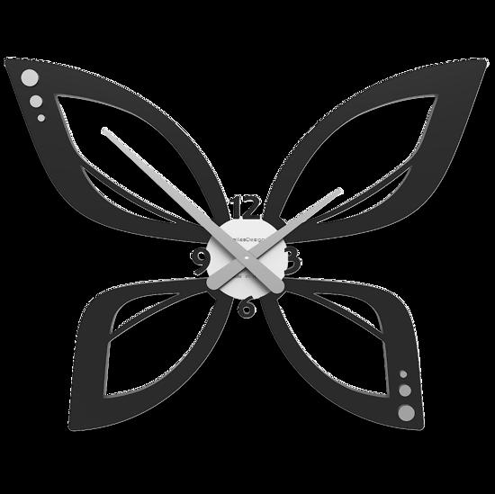 Picture of CALLEA DESIGN MODERN WALL CLOCK FARFY BLACK