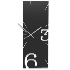 Picture of CALLEA DESIGN BLACK WALL CLOCK GREG