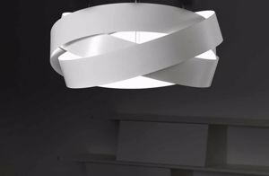 Picture of MARCHETTI PURA CEILING LAMP 60 WHITE 3XE27