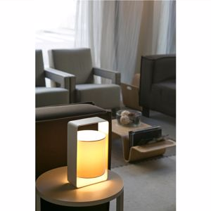 Picture of FARO LULA BEDSIDE LAMP WHITE MODERN DESIGN