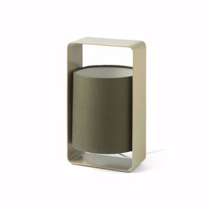 Picture of FARO LULA BEDSIDE LAMP GREEN MODERN DESIGN