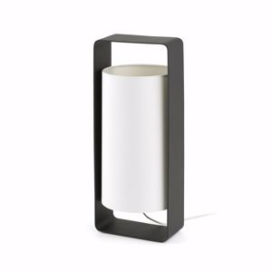 Picture of FARO LULA TABLE LAMP BLACK AND WHITE MODERN DESIGN