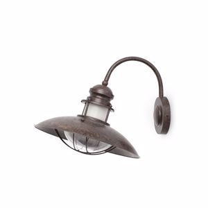 Picture of FARO WINCH WALL LAMP METAL OLD BROWN