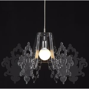 Picture of EMPORIUM AMARILLI SUSPENSION LAMP METACRYLATE TRANSPARENT