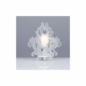 Picture of EMPORIUM AMARILLI BEDSIDE LAMP OPALINE WHITE