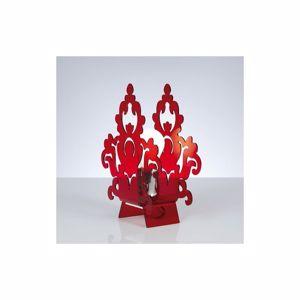 Picture of EMPORIUM AMARILLI BEDSIDE LAMP RED