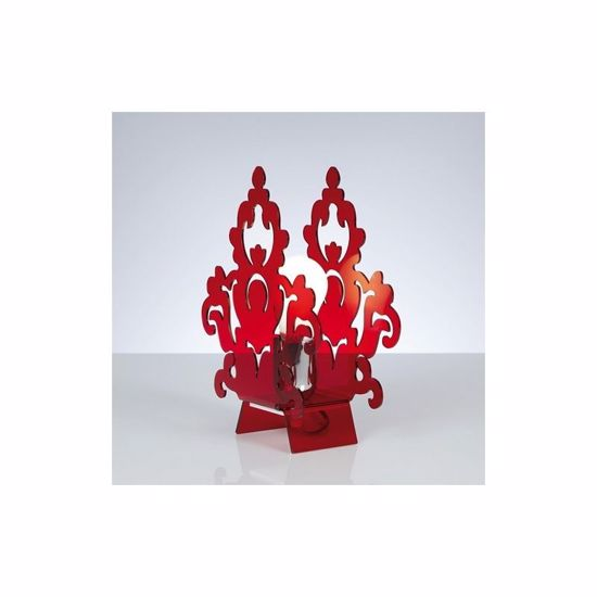 Picture of EMPORIUM AMARILLI BEDSIDE LAMP RED