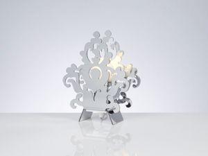 Picture of EMPORIUM AMARILLI BEDSIDE LAMP CROMOLITE