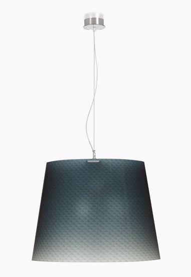 Picture of EMPORIUM BOEMIA SUSPENSION LAMP GREY Ø66cm