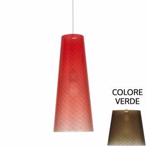 Picture of EMPORIUM BOEMIA SUSPENSION LAMP GREEN Ø25cm