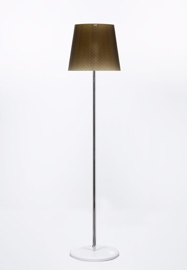 Picture of EMPORIUM BOEMIA MODERN FLOOR LAMP WITH SHADE IN POLYCARBONATE GREEN