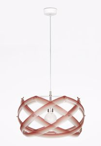 Picture of EMPORIUM NUCLEA SUSPENSION LAMP MEDIUM RED 53 CM