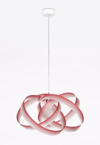 Picture of EMPORIUM NUVOLA SUSPENSION LAMP RED