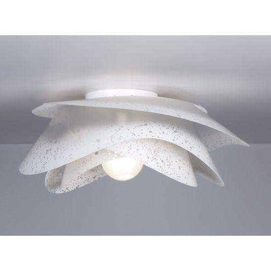 Picture of EMPORIUM ROSA CEILING LAMP WHITE Ø40 CM POLYCARBONATE
