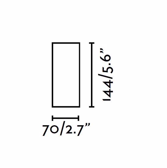 Picture of FARO NAN CYLINDRIC SPOTLIGHT WHITE FOR CEILING MODERN DESIGN